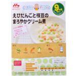 森永ベビーフード えびだんごと枝豆のクリーム煮 80g*2袋入 【18セット】