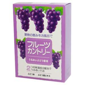 フルーツカントリー うるおいぶどう香浴 25g*5包 【4セット】