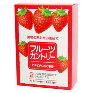 フルーツカントリー ピチピチいちご香浴 25g*5包 【4セット】