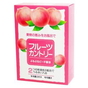 フルーツカントリー ぷるぷるピーチ香浴 25g*5包 【4セット】
