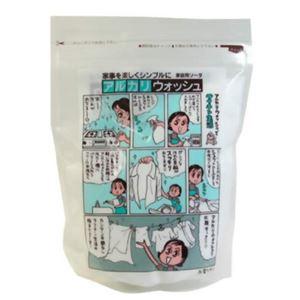 (まとめ買い)アルカリウォッシュ 500g(セスキ炭酸ソーダ)×8セット
