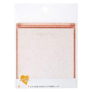 コンパクトミラーM(カード式)正方形 ピンク 【3セット】 - 拡大画像