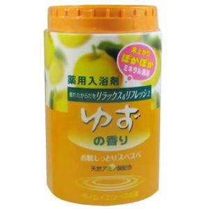 ミネラル温浴 ゆずの香り680g 【11セット】