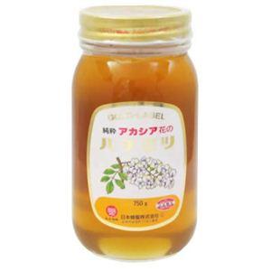 レンゲ印 ゴールド アカシア花 蜂蜜 750g 瓶入 【2セット】 - 拡大画像