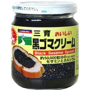 (まとめ買い)三育 おいしい黒ゴマクリーム 190g×4セット - 拡大画像