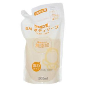 シャボン玉 EM ボディソープ 詰替用 500ml 【4セット】
