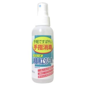 スプレー式 消毒用エタノールA 100ml 【4セット】 - 拡大画像