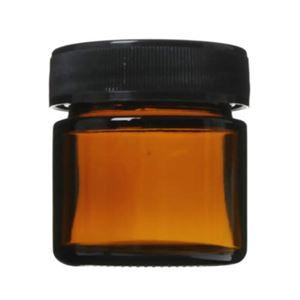 生活の木 茶色ガラス・クリーム容器 25ml 【5セット】 - 拡大画像