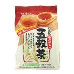 創健社 黒米入り 五穀茶 15g*16袋 【6セット】