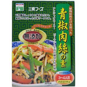 三育 植物原料だけを使ったチンジャオロース(青椒肉絲)の素 【8セット】