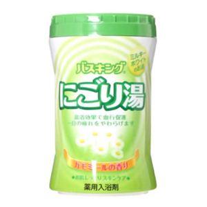 バスキング 薬用入浴剤 にごり湯(カモミールの香り)680g 【8セット】