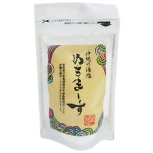 沖縄の海塩 ぬちマース 111g【6セット】 - 拡大画像