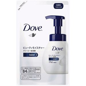ダヴ クリーミー泡洗顔 モイスチャー つめかえ用 130ml【6セット】 - 拡大画像