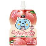 ぷるんぷるんQoo(クー) ピーチ味 125g*6個 【4セット】