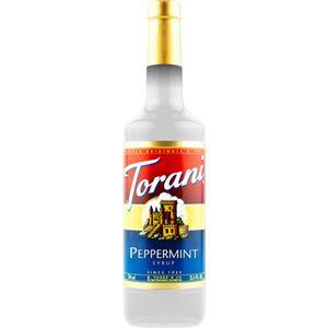 (まとめ買い)トラーニ フレーバーシロップ ペパーミント 750ml×2セット