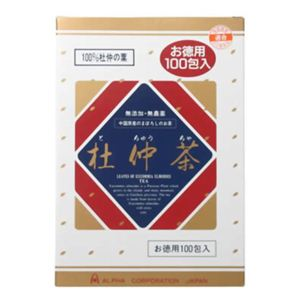 杜仲茶 100包 【2セット】 - 拡大画像