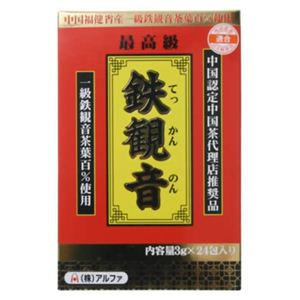 鉄観音茶 24包 【4セット】