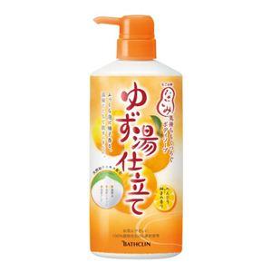 なごみ ボディソープ温泉仕立て のんびり柚子の香り 580ml 【5セット】