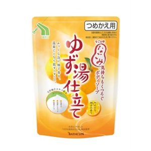 なごみ ボディソープ温泉仕立て のんびり柚子の香り つめかえ用 400ml 【6セット】