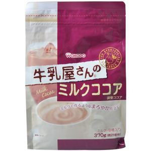 牛乳屋さんのミルクココア 370g 【7セット】 - 拡大画像