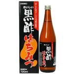 オリヒロ おいしい黒酢はちみつ 720ml 【3セット】
