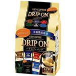 キーコーヒー ドリップオン バラエティパック 6つの味*2袋 12杯 【5セット】