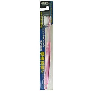 マイナスイオン 健康宣言 歯ブラシ かため 【16セット】 - 拡大画像