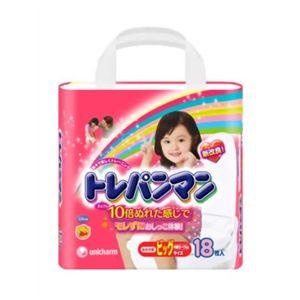 トレパンマン 女の子用 ビッグ 18枚 【6セット】