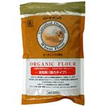 (まとめ買い)ムソーオーガニック 小麦粉 全粒粉 500g×4セット