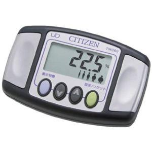 CITIZEN(シチズン) デジタル歩数計 TW260-003 クロ - 拡大画像