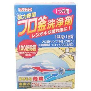 強力除菌フロ釜洗浄剤(1つ穴用) 100g 【9セット】