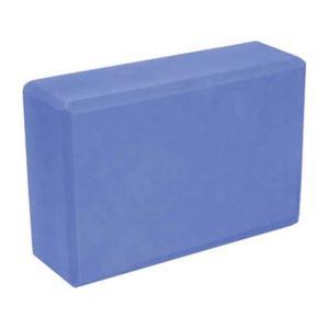 (まとめ買い)ヨガブロック ブルー FY-911×3セット - 拡大画像