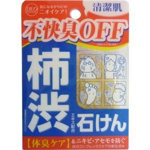 柿渋エキス配合石鹸 デオタンニングソープ 100g 【7セット】