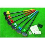 アシックス グラウンドゴルフ ビギナークラブ・ボール6色セット GGG112