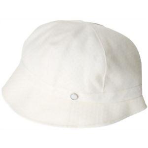 岡田美里プロデュース 清楚な帽子 白 - 拡大画像