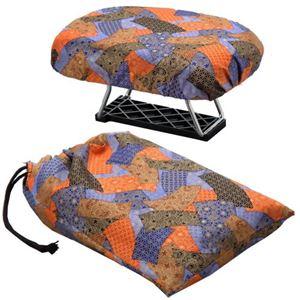 正座椅子 NEWらくっ子 大 巾着袋付き - 拡大画像