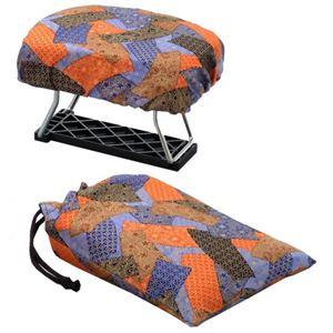 正座椅子 NEWらくっ子 小 巾着袋付き - 拡大画像