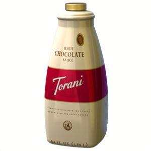 トラーニフレーバーソース ホワイトチョコレートソース 2640g - 拡大画像
