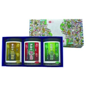 伊勢の和紅茶(2g×20個) ・松阪の深蒸し茶(5g×15個)・香肌の茎焙茶(3g×15個) ギフトセット - 拡大画像