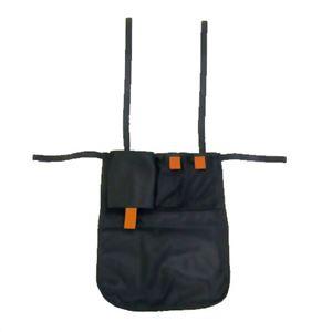 ナカバヤシ シルバーカー用 背面バッグ CASL-OP01 BK ブラック - 拡大画像