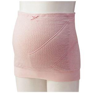 犬印妊婦帯 電磁波シールド妊婦帯 みらい ピンク マタニティM HB8043 - 拡大画像