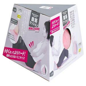 腹筋クッションミニ&ハード ピンク - 拡大画像