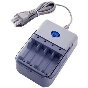 (まとめ買い)スマイルキッズ アルカリ乾電池充電器II AAC-202×2セット - 拡大画像
