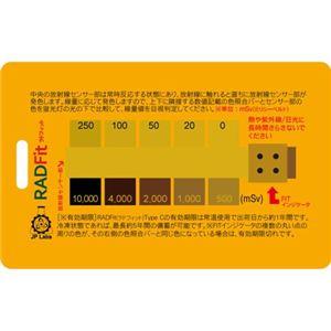 XTSafety 携帯型 放射線累積線量計(放射能測定器) RADFit(ラドフィット) 米国特許取得済 - 拡大画像