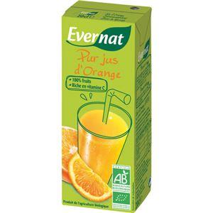 エバーナット 100%オレンジジュース 200ml*24本 - 拡大画像