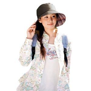 るるぶ らくらく旅行帽子 - 拡大画像