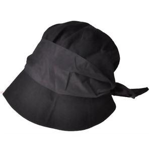 岡田美里プロデュース mili millie 2つを楽しめる帽子 ブラック - 拡大画像