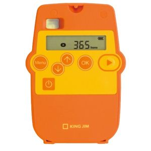 キングジム インターバルレコーダー レコロ IR5 オレンジ - 拡大画像