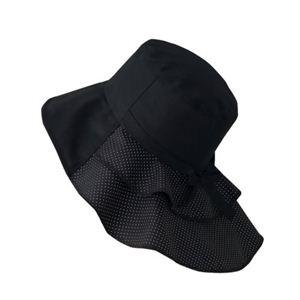 岡田美里プロデュース mili millie 首筋美人帽子 - 拡大画像