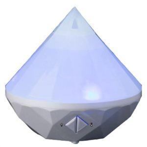 cosmo nature 超音波式アロマ加湿器 SZK-10W ホワイト - 拡大画像